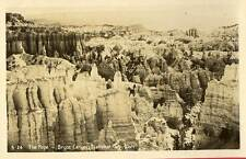 1940 BRYCE CANYON NATIONAL PARK UT The Pope RPPC REAL PHOTO postcard