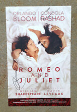 ROMEO AND JULIET Signed Autographed Poster PROOF! Orlando Bloom Condola Rashad