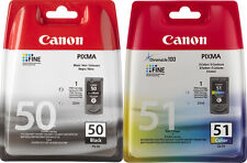 ORIGINAL CANON PG50 + CL51  SPARSET PIXMA DRUCKER PATRONEN MX300 MX310 IP2200