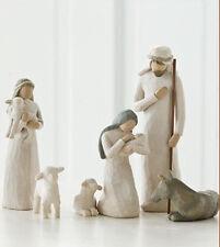 Demdaco Willow Tree 6 piece Nativity set #26005 Noel FREE SHIPPING