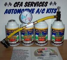 R12 COMPATIBLE REFRIGERANT 12a OIL+STOPLEAK / 1994-OLDER CARS RECHARGE A/C KIT