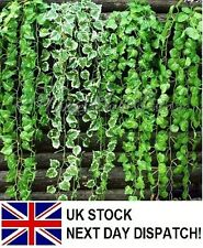 6.56ft-7.87ft Artificial Trailing Ivy Vine Leaf Garland Plants Foliage Flowers