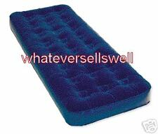 SINGLE AIR BED BUILT IN PUMP mattress inflatable camp
