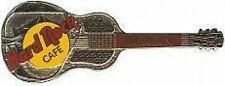 Tri-Plate Model 35 Guitar Pin #1197 Hard Rock Cafe Berlin 1990s Silver Naional