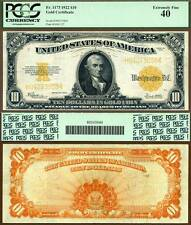 1922 $10 Gold Certificate FR-1173 PCGS Graded No PPQ but Really Nice