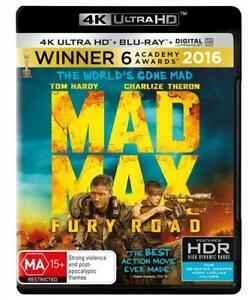 Mad Max: Fury Road - UHD + Blu-ray + UV UHD
