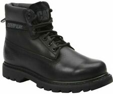 CAT Mens Colorado Oiled Full Grain Leather Black Boots