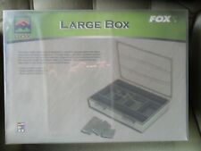 Fox F-Box Tackle Box Complete Large Carp Fishing