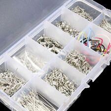 610Pcs Jewelry Making Tools Kits Handmade DIY Accessories Head Chain Beads Box L