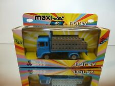 NOREV 515 SAVIEM TRUCK BOISSONS - BOTTLE TRANSPORTER - 1:43 - VERY GOOD IN BOX
