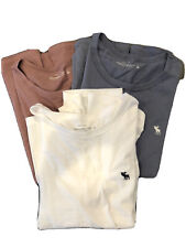 abercrombie & fitch Women's Preowned 3 Pack T-shirts Size L