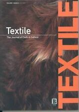 Textile, Volume 1, Issue 2: The Journal of Cloth and Culture