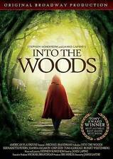Into the Woods -Original Broadway Cast (DVD, 2014) NEW FACTORY SEALED!FREE SHIP