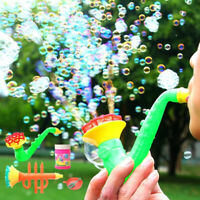 Water Blowing Toys Bubble Gun Soap Bubble Blower Outdoor Kids Toys Party Fav Ehc