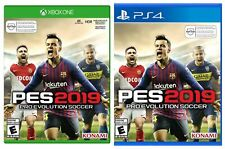 Pro Evolution Soccer PES 2019 XBOX One/PS4 FREE SHIPPING