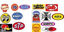 Retro 15 Pcs Sticker set, camper, hotrod, vintage, vw, pvw, T4, T5