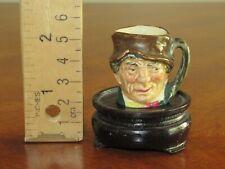"""Vintage Small Miniature Royal Royal Doulton Paddy Character 1.3"""" Toby Jug Mug"""