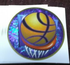 """2"""" diameter youth Basketball insert mylar trophy parts lot of 10"""
