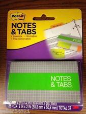 Post It Notes Amp Tabs Orangeneon Green 12 Tabs 2 X 15 25 Notes 2 X 2 1 Pk