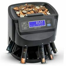 Aura Coin Counter Machine Automatic Coin Roller Dt100 Coin Sorter And