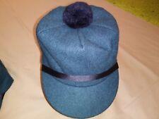 SALE - Original Wool Scotch Cap, Teal Green, Langenberg Hat Company, USA, NEW