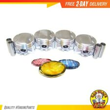 Pistons and Rings 88-89 Fits Acura Integra 1.6L DOHC 16v D16A1