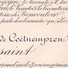 Guy Pierre Léon Coetnempren De Kersaint Nice 1891 Oise