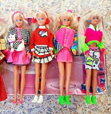 Rare Vintage Hasbro Sindy & Scotty, Holiday, Jet Away doll lot 1988-1989