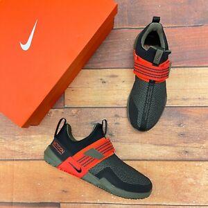 Nike Men's Metcon Sport Black /Olive Training Shoes AQ7489-006