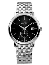 Alfex Stainless Steel Mens Watch 5703/002. 3ATM Water Resistant, Swiss Made.