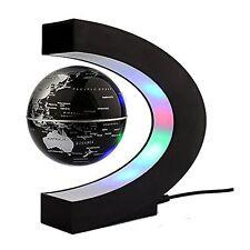 Magnetic Levitation Floating Globe with LED Lights 3-inch Globe World Map C
