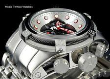 NEW Invicta Reserve Bolt ZEUS Swiss Quart Black Dial BLACK CABLES Bracelet Watch