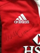 British lions Signed will Greenwood jersey 2013 large  and scarf
