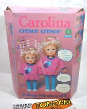 BAMBOLA CAROLINA CRESCE CRESCE Giochi Preziosi, Anno 1983, Fondo di magazzino