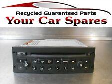 Peugeot 206 Stereo Radio Unit 03-06