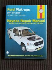 Repair Manual-Red Line Haynes 36061 Ford Pick Ups 2004 thru 2009 2Wd & 4Wd Vgc