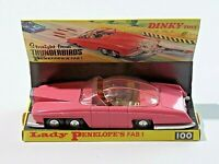 Vintage Dinky Toys Lady Penelope's Fab 1 1966 in Original Box Pink Thunderbirds