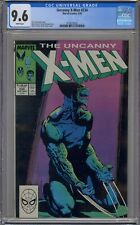 UNCANNY X-MEN #234 CGC 9.6 MARC SILVESTRI COVER WHITE PAGES 5021