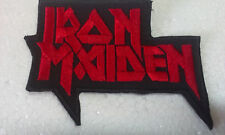 IRON -ON Embroidered Patch MUSIC, ROCK BAND IRON MAIDEN