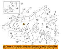 CHRYSLER OEM Front Suspension-Bumper 68029521AE
