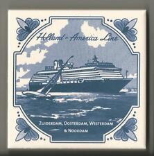 Holland America Line  Blue Delft Tile ... Vista Class Ships