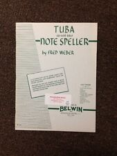 Tuba Eb and Bbb Notespeller by Fred Weber (Paperback)