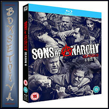 SONS OF ANARCHY - COMPLETE SERIES SEASON 6  ***BRAND NEW BLU-RAY  **