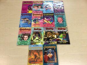 14 x Goosebumps Paperback Books Bundle By R.L. Stine