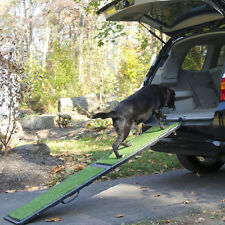 """Gen7Pets 72"""" Natural-Step Pet Ramp w/ artificial turf for up to 250 lbs G7572NS"""