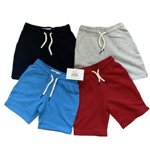 Ex Next Boys Fleece Shorts Lounge Loungwear Kids Childrens Stag Casual Summer