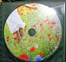 Audiolibro audiobook cd AUDIO - NERUDA LEGGE NERUDA  / usato