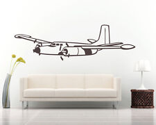 Airliner Airplane Vinyl Wall Decal Sticker Removable Graphic Child's room 1