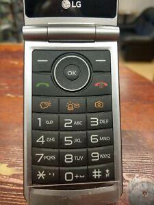 LG G350 G 350 Black (Unlocked) BIG BUTTON Phone Flip Fold , Senior phone , 1pcs