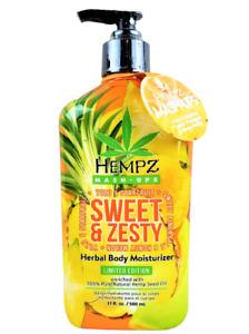 HEMPZ SWEET & ZESTY MASH-UPS MOISTURIZER 17oz BOTTLE